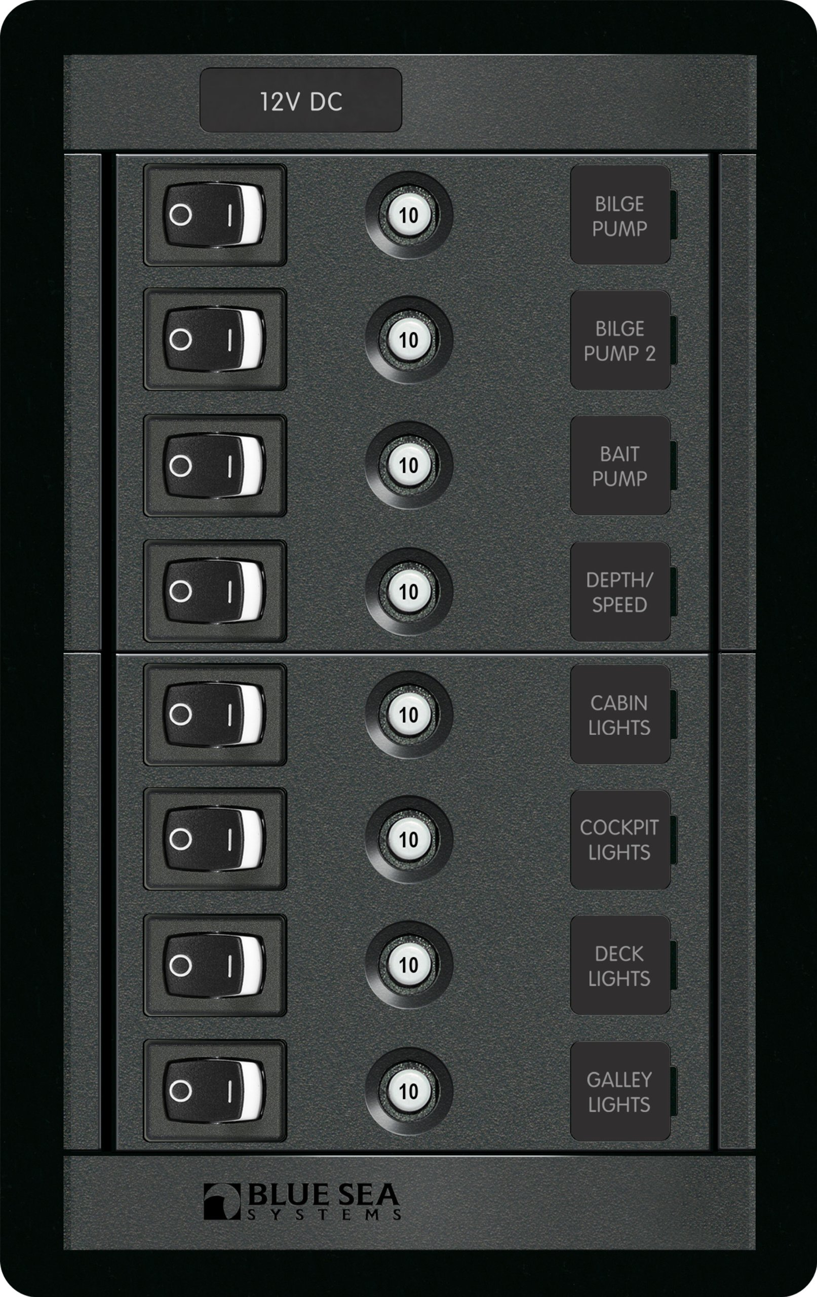 Blue Sea Systems 8 Position Switch CLB Vertical