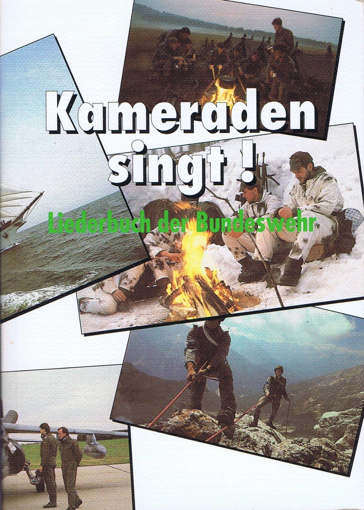 Kameraden Singt Liederbuch Der Bundeswehr Amazonde Führungsstab