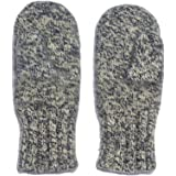 Dachstein Woolwear 4 Ply Extreme Warm 100% Austrian Boiled Wool Alpine Mittens in Natural Grey