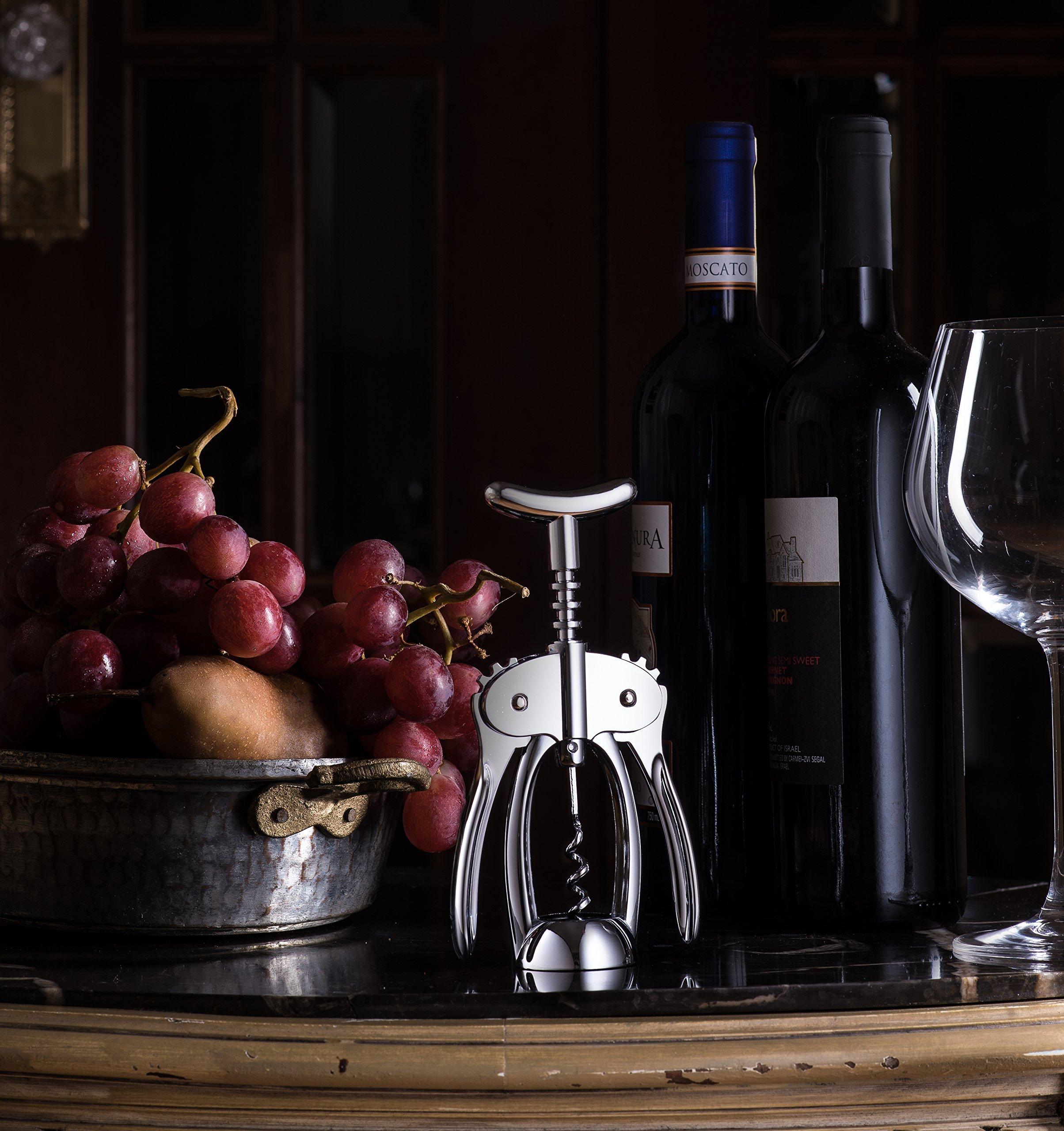 Bellemain Premium Wing Corkscrew Wine Opener Heavy-duty nonstick by Bellemain (Image #2)