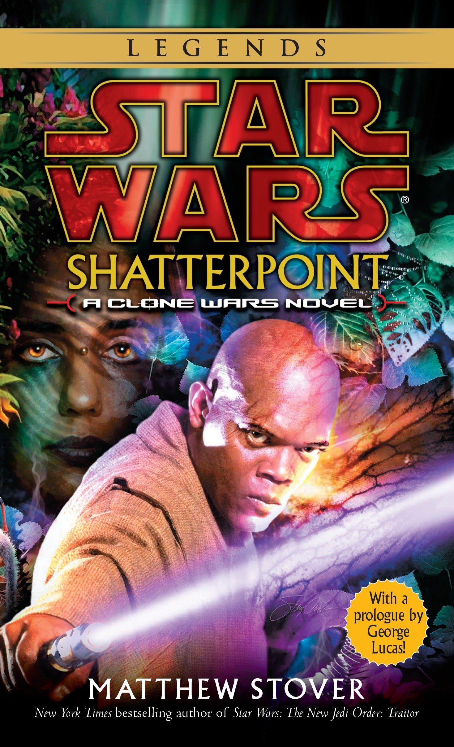 Amazon.com: Shatterpoint (Star Wars: Clone Wars) (9780345455741 ...