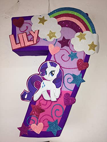 My Little Pony Number Pinata Birthday Party Decorations Theme