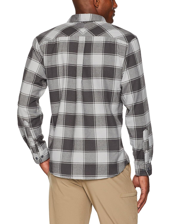 Columbia Hombre, Plata Ridge Camisa, Hombre, Columbia Gris Gris, Buffalo Plaid, M 1bea5e