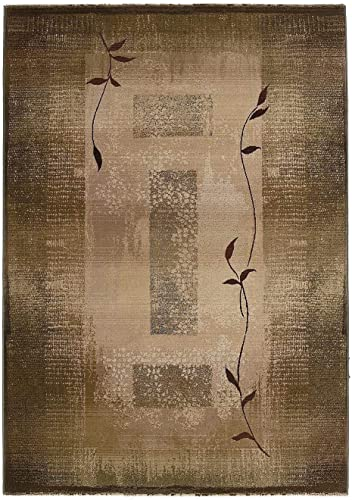 Oriental Weavers Generations 2 3 x 4 5 Machine Woven Rug in Green