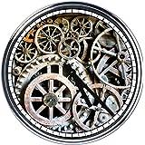 Orologio da parete con ingranaggi 1