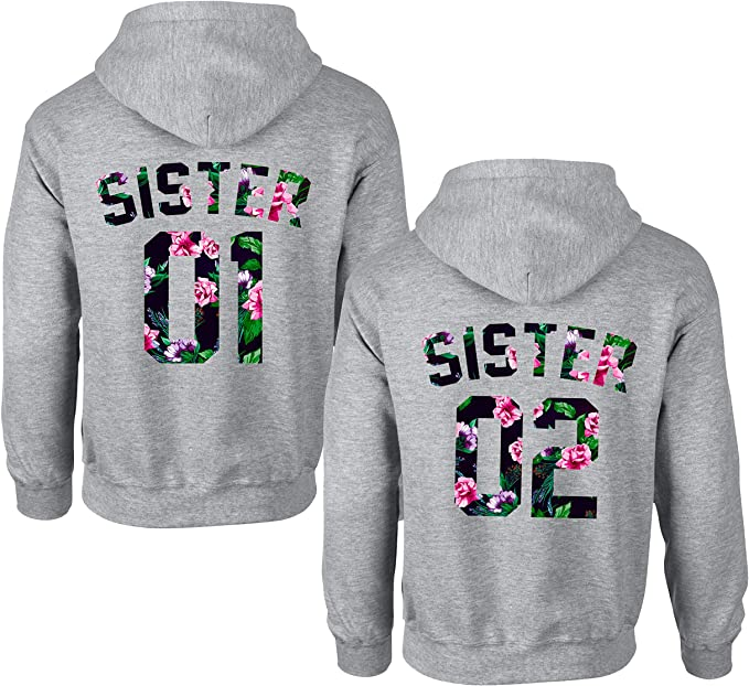 Sweatshirt Hoodie SISTER & SISTER für Schwestern