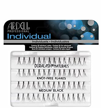 62e48835c25 Amazon.com : Ardell Duralash Naturals, Flare Medium Black : Fake Eyelashes  And Adhesives : Beauty