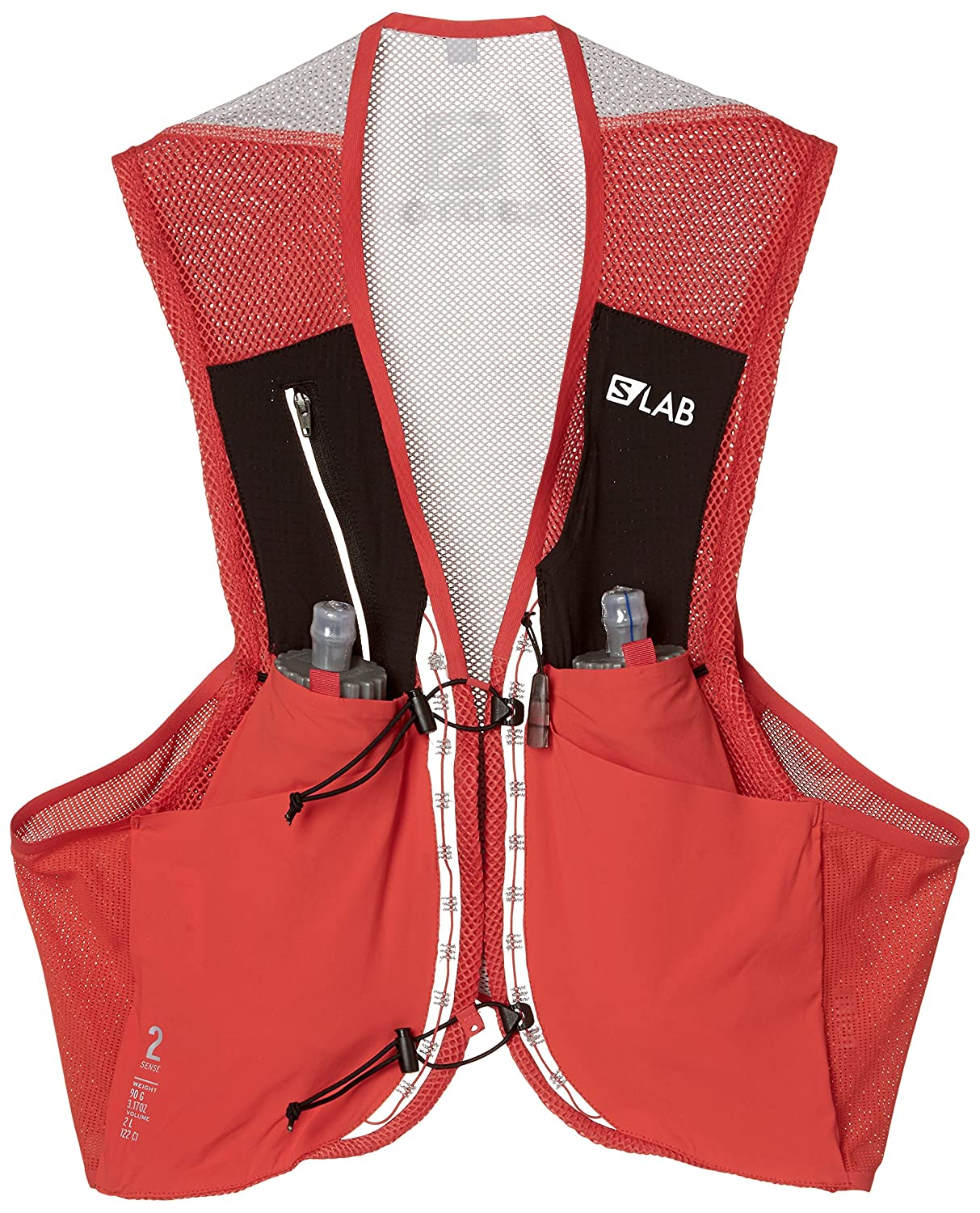 1ddb3dc9 Salomon Unisex S/Lab Sense 2 Set Hydration Vest, Racing Red, X-Small ...