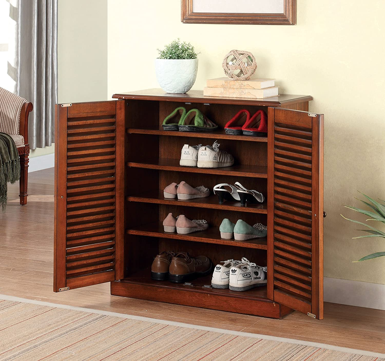 cabinet shoes beech your types use storage store of to shoe organizer varied