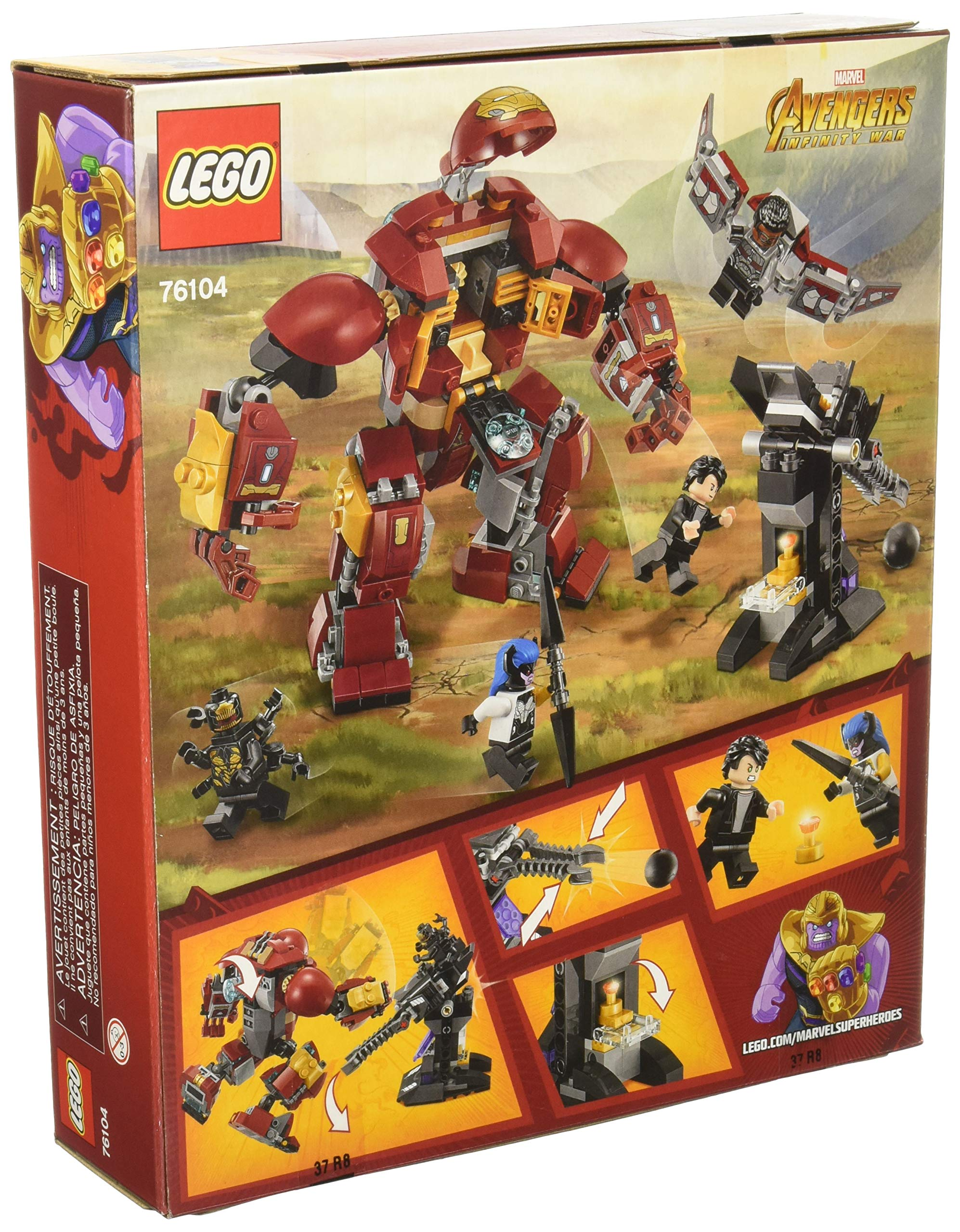 LEGO Marvel Super Heroes Avengers: Infinity War The Hulkbuster Smash-Up 76104 Building Kit (375 Piece) by LEGO (Image #2)