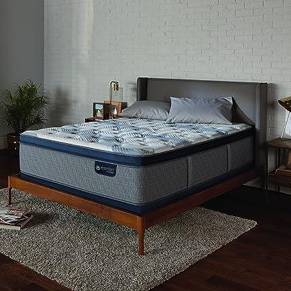 Amazon Com Serta Icomfort 500820873 1070 Icomfort Hybrid 14 Blue