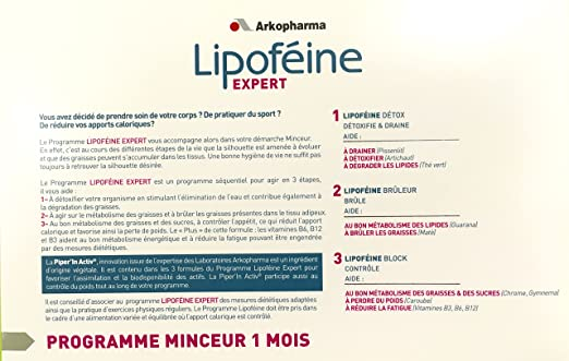 Arkopharma - Lipoféine EXPERT - DETOXIFIE et DEGRADE les ...