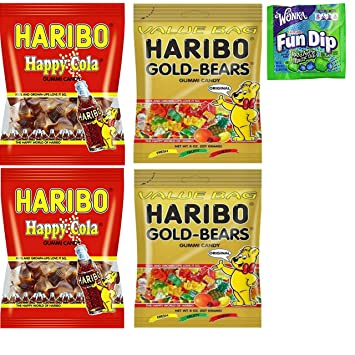 amazon com haribo gummy candy large bag variety pack individual
