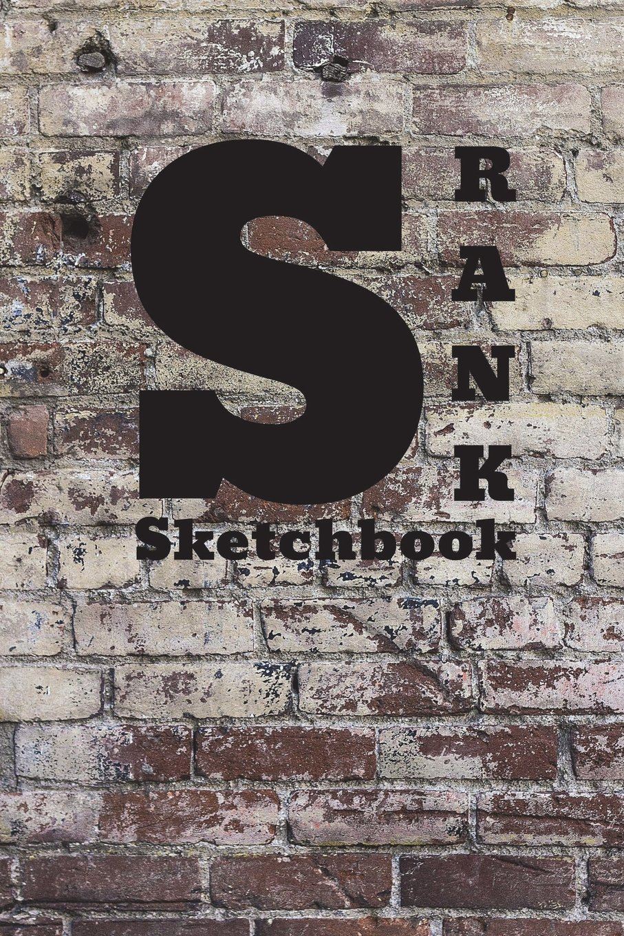 Sketchbook S Rank 6x9 Brick Background Covers Unlined
