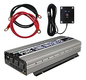 Power TechOn PS1004 Pure Sine Wave Inverter (3000W Cont/6000W Peak)