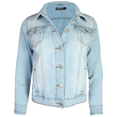 dollhouse Women's Basic Denim Jean Jacket at Women's Coats Shop