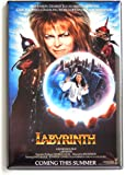 Labyrinth Movie Poster Fridge Magnet (2 x 3 inches)