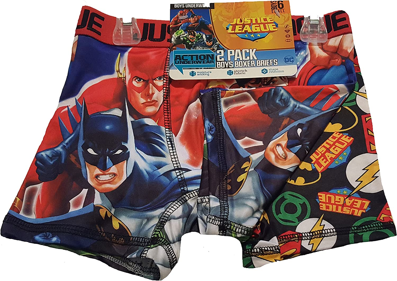 Boys Boxer Short with Justice League detail
