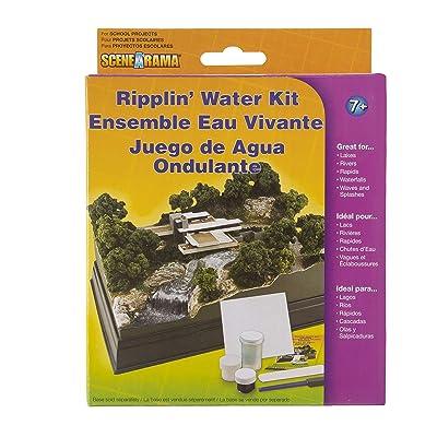Woodland Scenics SP4122 Scene-A-Rama™ Ripplin' Water Kit, Multicolor: Home & Kitchen