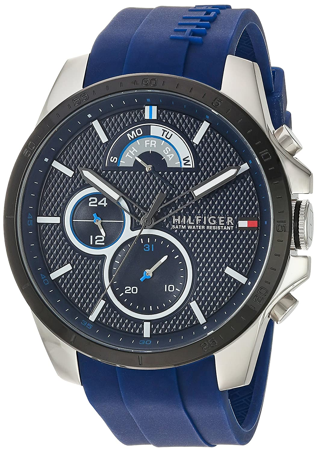 Buy Tommy Hilfiger Men S Cool Sport Quartz Stainless Steel And
