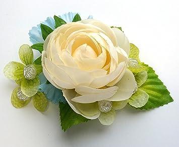 Amazon ivory white ranunculus flower with aqua blue and green ivory white ranunculus flower with aqua blue and green mightylinksfo
