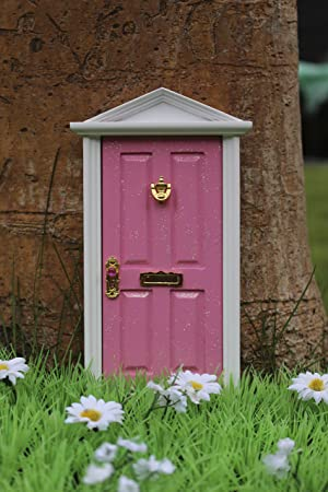 Pink magical fairy door & Pink magical fairy door: Amazon.co.uk: Baby pezcame.com