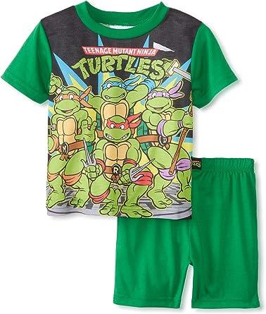 Teenage Mutant Ninja Turtles Toddler Boys Tank Top /& Short Set Size 3T Green