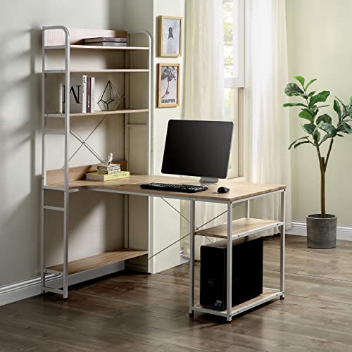 Modern Luxe L-Shaped Desk Corner