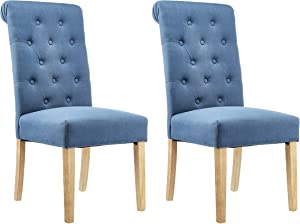 Red Hook Dining Chair, Blue (Pack of 2)