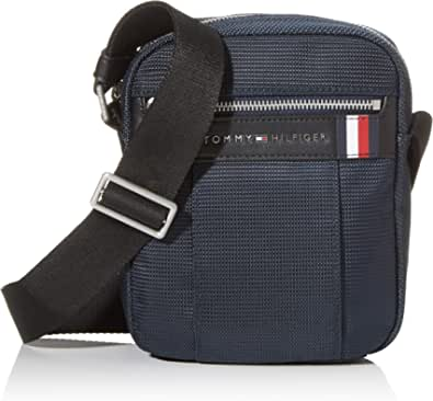 Tommy Hilfiger Elevated Nylon Mini Rep, Bolsillo de Reportero para Ilaves y Billetera para Hombre, 1x1x1 centimeters (W x H x L)