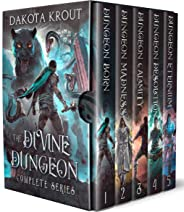 The Divine Dungeon Complete Series: Dungeon Core GameLit Fantasy (English Edition)