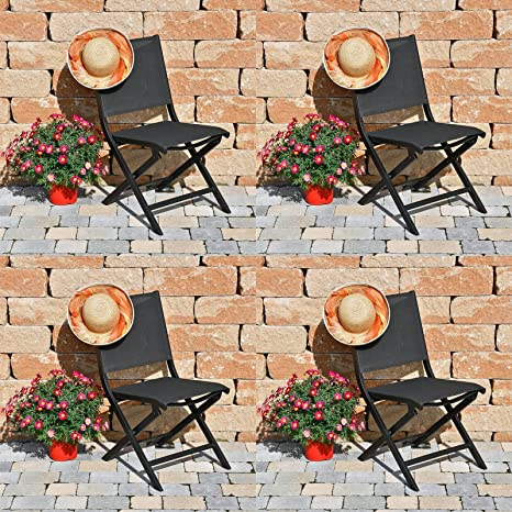 4 Kettler Sillas Plegables Lille Comfort 0310118 - 7010 ...