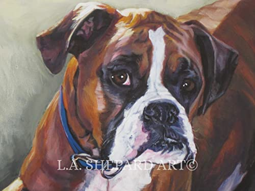 Boxer Dog Art Paintings