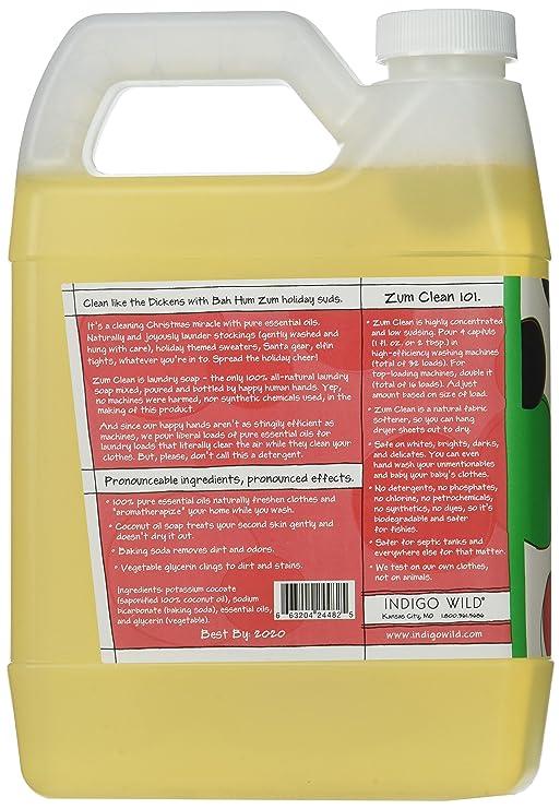 Indigo Wild 663204244825 Bah Hum Zum Clean Laundry Soap Amazon In