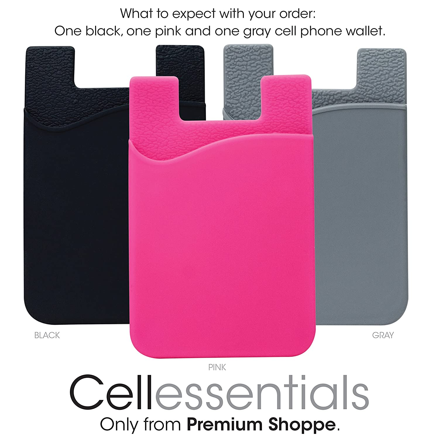 cell phone wallet by cellessentials for credit card