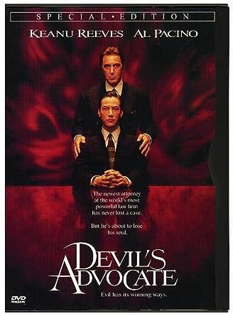 Amazon com: Devil's Advocate: Keanu Reeves, Al Pacino