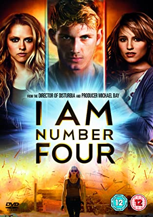 I Am Number Four Dvd Amazon Co Uk Alex Pettyfer Timothy