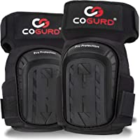 COGURD Professional Gel Knee Pads for Work Construction, Gardening, Cleaning, Flooring and Garage - Heavy Duty Support…