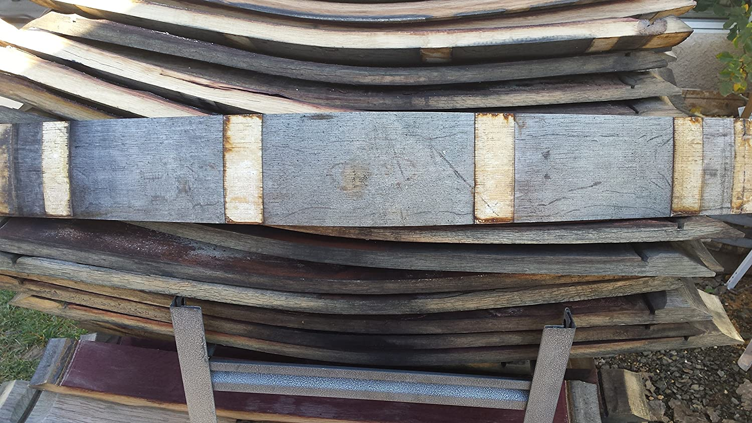 Rare Extra Wide Used Wine Barrel Stave - FREE SHIPPING!