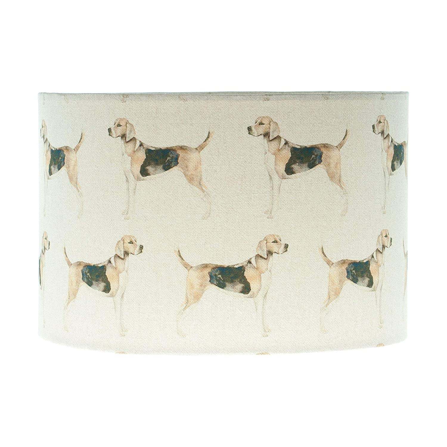 Voyage Hound Country Drum Lampshade Table Lamp Shade Ceiling Lightshade