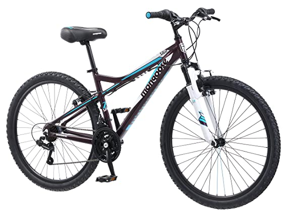 Amazon.com   Mongoose Women s Silva Mountain Bicycle 26