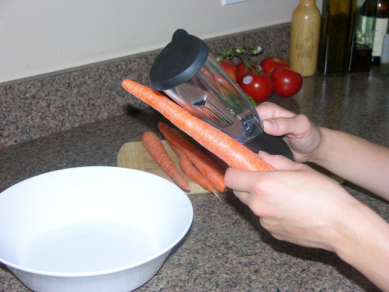 Viatek Veggie-Peel Vegetable Peeler with Built-in Chamber Free Shipping