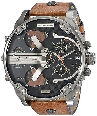 452214be98f3 Diesel Mr Daddy 2.0 - Reloj de pulsera  Amazon.es  Relojes