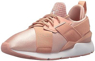 Puma PUMA Frauen Muse Satin Ep Schuhe, 37.5 EU, Peach
