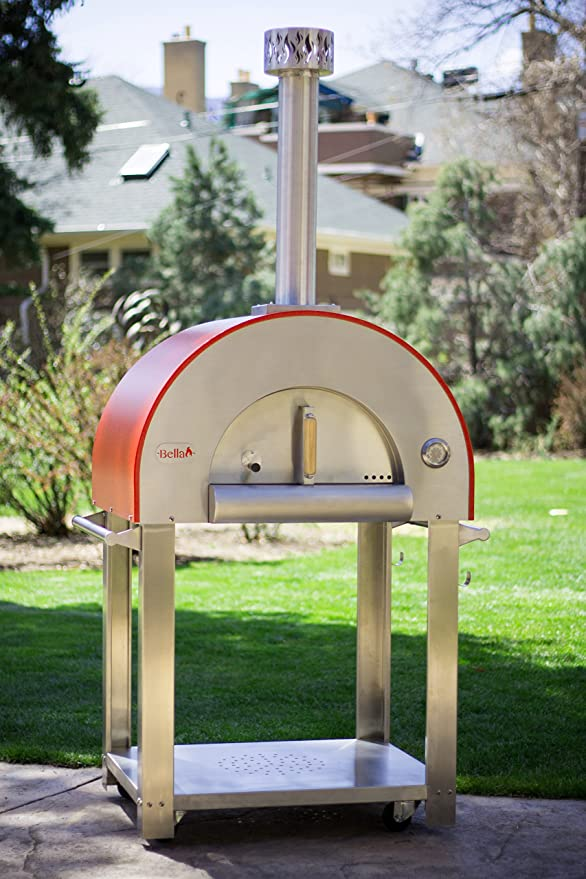 Amazon.com: Bella medio28 Portable Horno de pizza – Acero ...