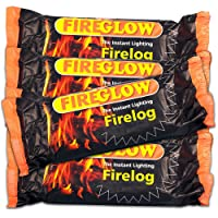 15 x Fireglow The Instant Lighting Firelog Burns for up to 2 Hours