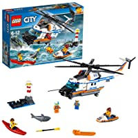 Lego City Heavy-Duty Rescue Helicopter 60166 Playset Toy