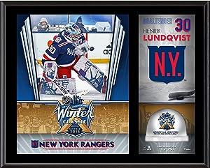 Henrik Lundqvist New York Rangers 12