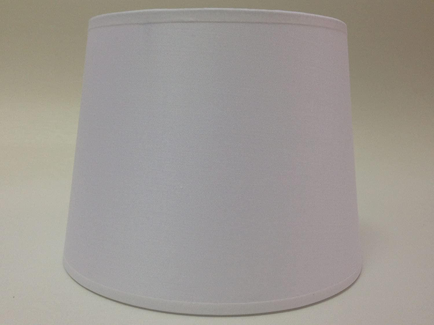 20,3 cm Empire Weiß Baumwolle Stoff Lampenschirm Licht Lampe Tisch ...