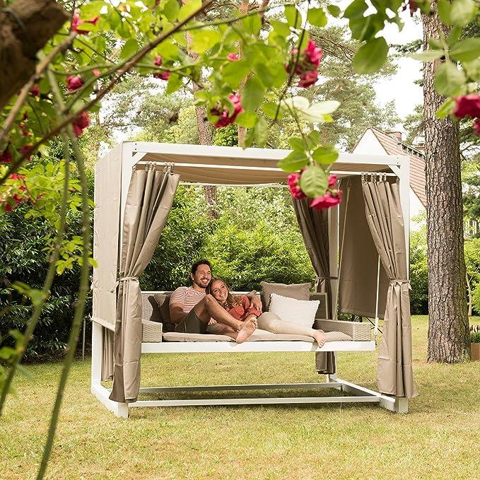 blumfeldt Eremitage Columpio jardín - Sillon con Superficie de ...